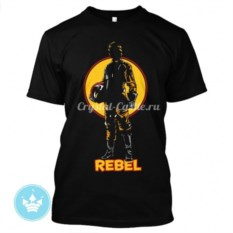 Мужская футболка Rebel
