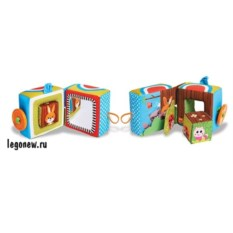 Развивающая книжка Tiny Love Куб