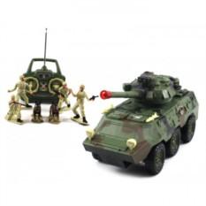 Радиоуправляемый военный бронетранспортер Armored Car
