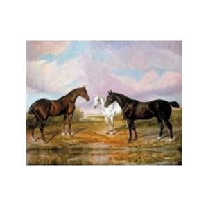 Картина «Лошади на лугу»