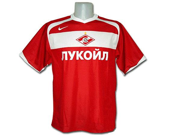 Майка «Спартак» (реплика Nike, сезон-2006) красная