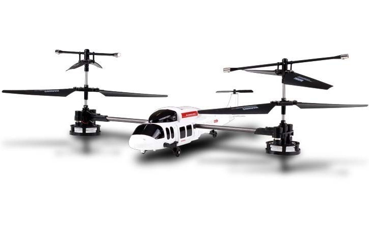 Радиоуправляемый вертолет-перевертыш Happy Cow Stunt Pilot
