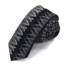 Черный галстук с красивым плетением Christian Lacroix