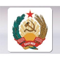 Подставка под кружку «Герб Эстонской ССР»