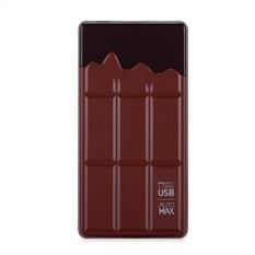 Внешний аккумулятор 7000 mAh Momax iPower Chocolatier Brown
