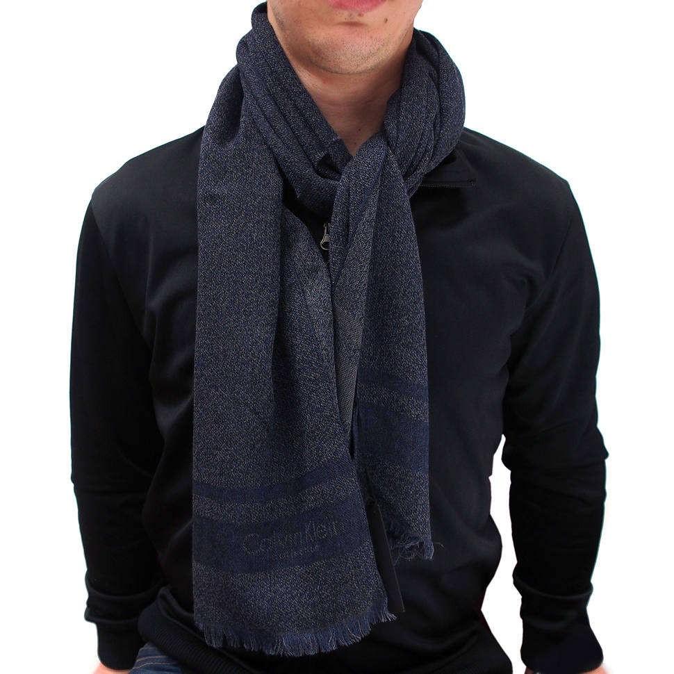 Модный зимний мужской шарф Calvin Klein