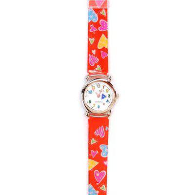 Часы «Красные сердца» Tik-Tak