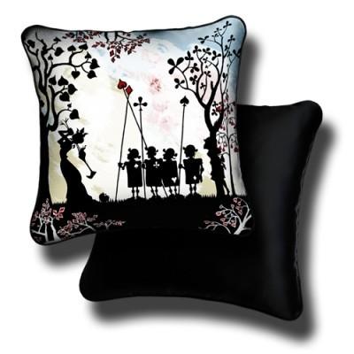 Декоративная подушка «Королевский крокет»