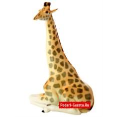 Фарфоровая статуэтка Жираф с поднятой головой