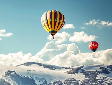 Полет на воздушном шаре (1 взрослый + 2 ребенка)