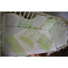 Комплект в детскую кроватку с бортиками «Спокойных снов»