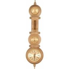 Светлый настенный барометр гигрометр термометр часы