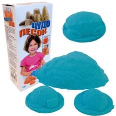 Голубой песок для игры «Чудо-песок» , 1 кг.