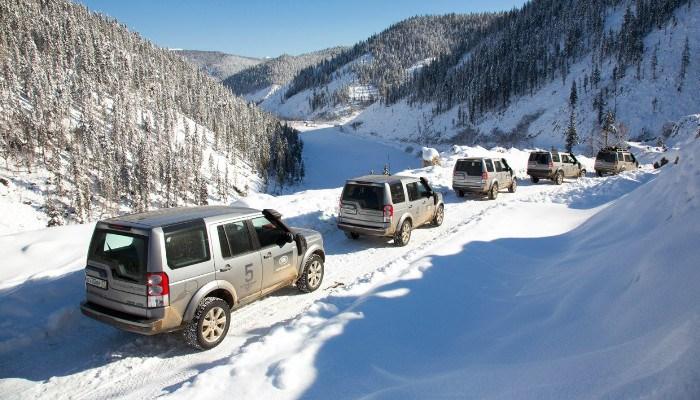 Сертификат Курсы внедорожного вождения на Land Rover