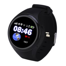Черные детские часы с GPS Wochi ZoOmix