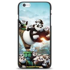 Чехол на телефон Панда на одной ноге