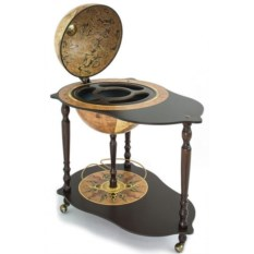 Глобус-бар со столиком Микеланджело