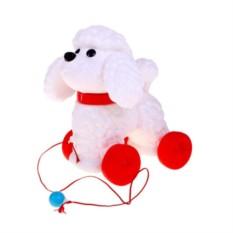 Пластмассовая игрушка-каталка Собака Фафик