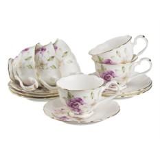 Чайный набор с цветами