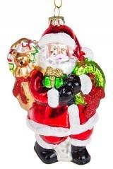 Елочное украшение Дед Мороз с подарками