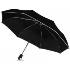 Складной зонт с белой окантовкой