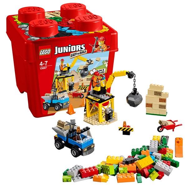 Конструктор - LEGO Juniors Строительство