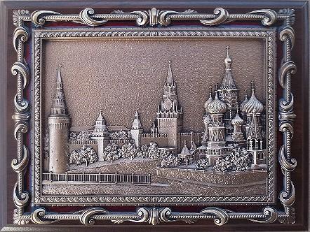 Плакетка Васильевский спуск в подарочной коробке