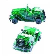 3D-головоломка Зеленый кабриолет