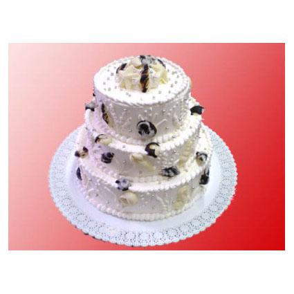Свадебный торт «Жемчужина»