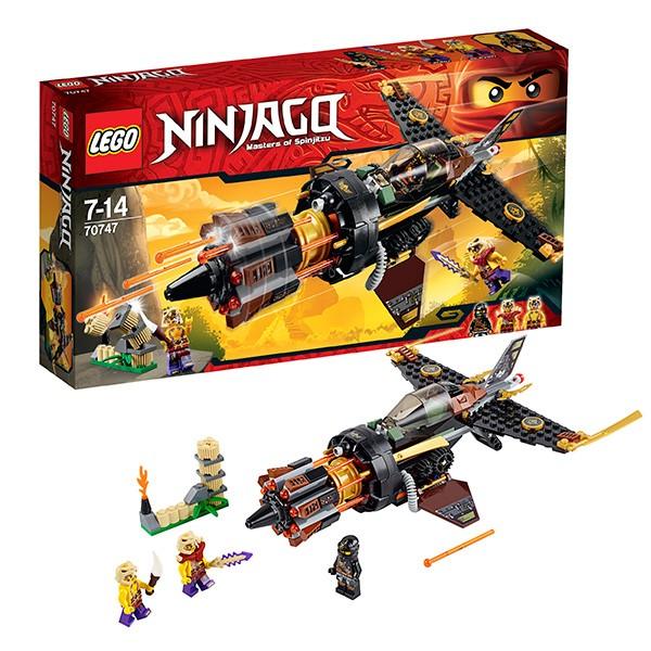 Конструктор Lego Ninjago Скорострельный истребитель Коула