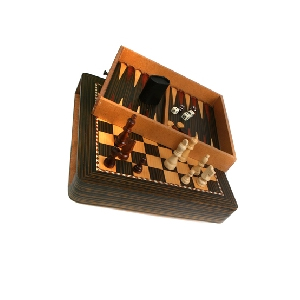 Набор игр настольных «Шашки, шахматы и нарды»