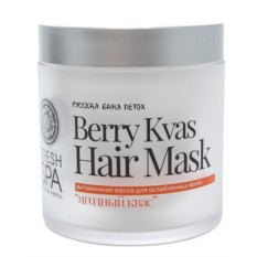 Витаминная маска для волос Ягодный квас