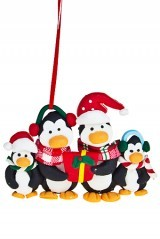 Новогодний сувенир Пингвинятки