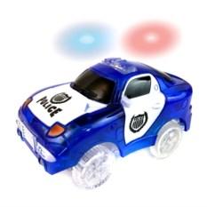 Игрушечная светящаяся полицейская турбо-машинка Magic Tracks
