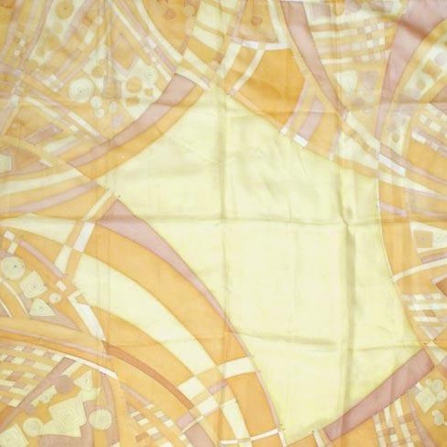 Платок шелковый Сахара