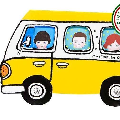 Стикеры Автобус