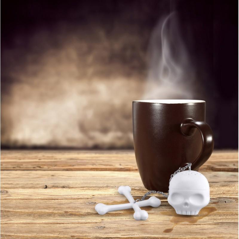 Ситечко для чая Tea Bones Череп с костями