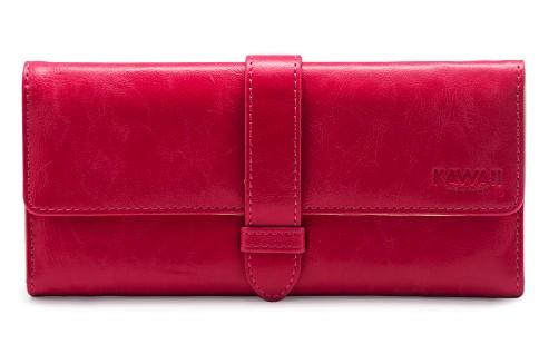 Ярко-розовый кошелек Tenon