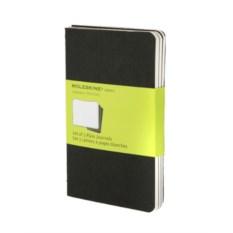Нелинованная записная книжка Moleskine (цвет — черный)