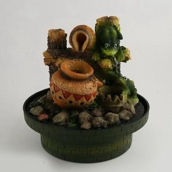 Фонтан «Кувшин и лягушка»