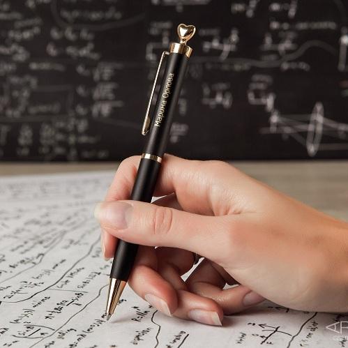 Ручка Золотое сердце