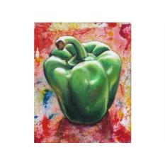 Набор для вышивки стразами «Зеленый перец»