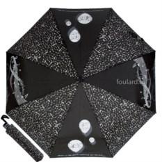 Женский зонт с абстрактными рисунками EMME OC Boll Nero