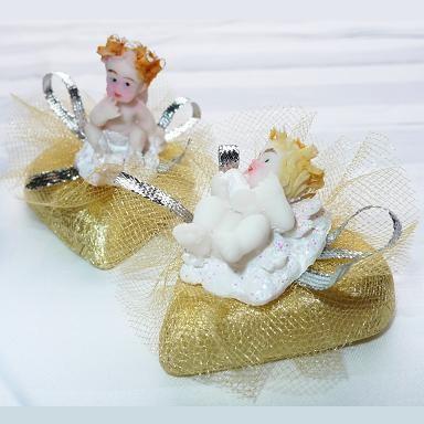 Декоративная конфета Золотой ангел