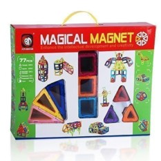 Магнитный конструктор Magical Magnet (77 деталей)