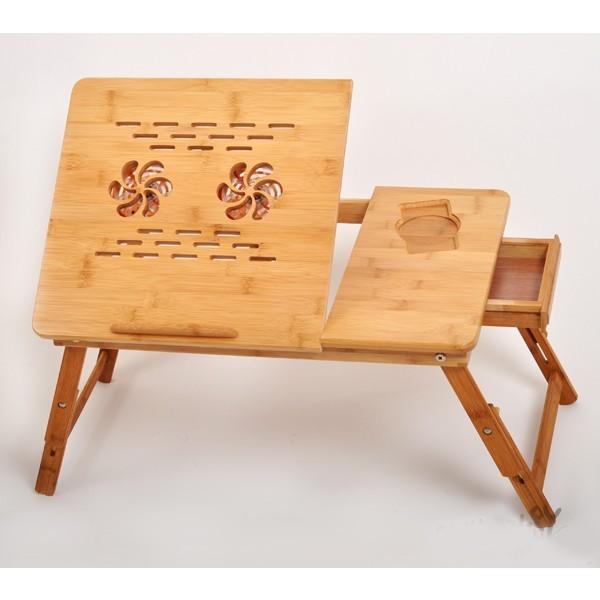 Стол для ноутбука, бамбук