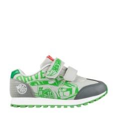 Серо-зеленые кроссовки Hot Wheels