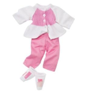 Набор одежды «Бело-розовый»