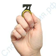 Спасательный нож-брелок для ремней безопасности
