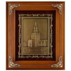 Настенная деревянная ключница Спасская башня